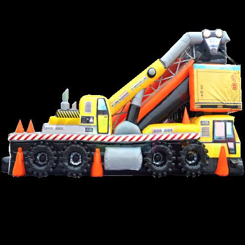 Crane Truck MEGA Slide
