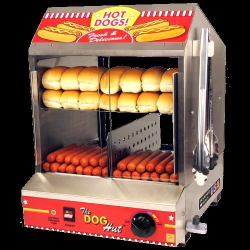 Machine Hot Dog à Vapeur