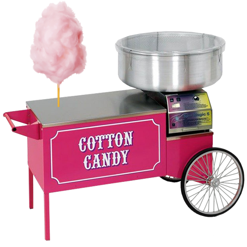 Cotton Candy Machine & Cart