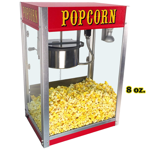 Popcorn Machine 8 oz. with Cart