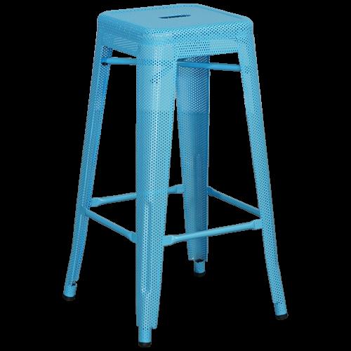 Tabouret Tolix - Bleu