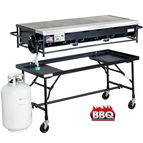 Barbecue Gas Grill 4'