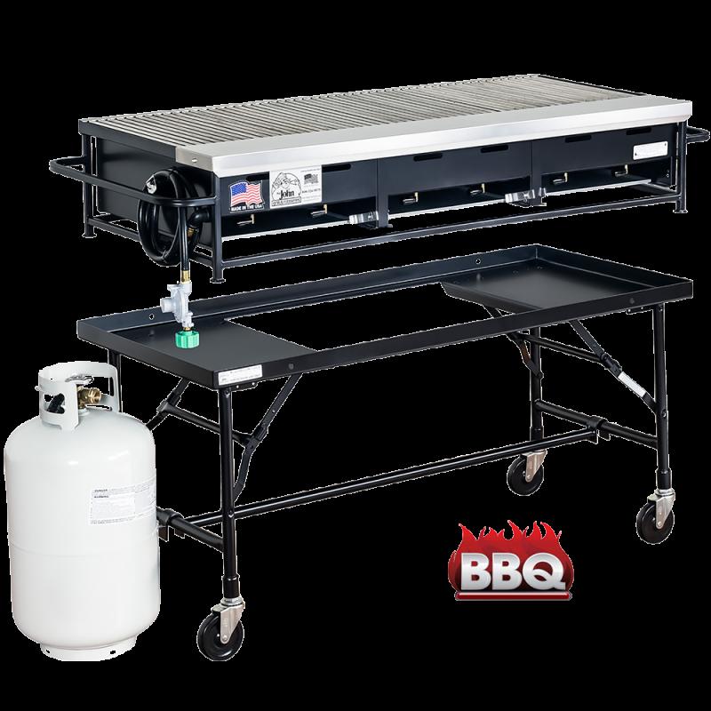 Barbecue Gas Grill 4'