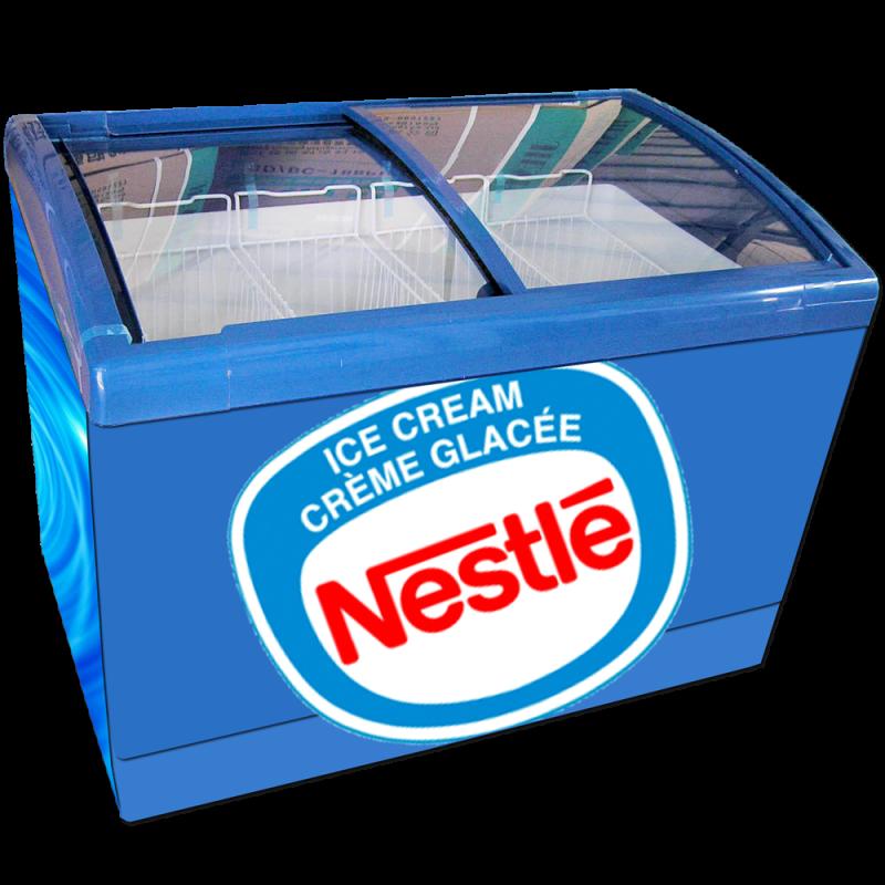 Congélateur de Crème Glacée Nestle