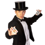 Card Tricks Entertainer - Walk-Around