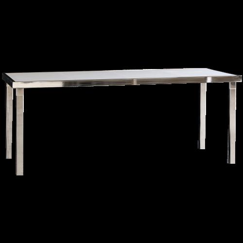 Gala Table Dîner Rectangle - Blanc
