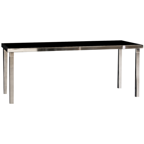 Gala Dinner Table Rectangle - Black