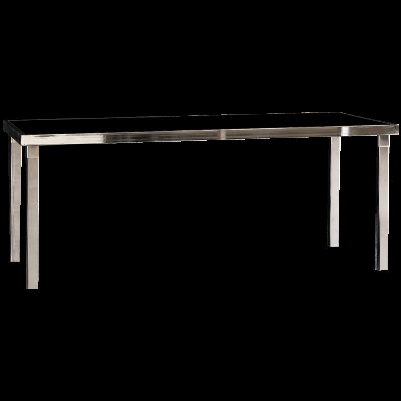 Gala Table Dîner Rectangle - Noir