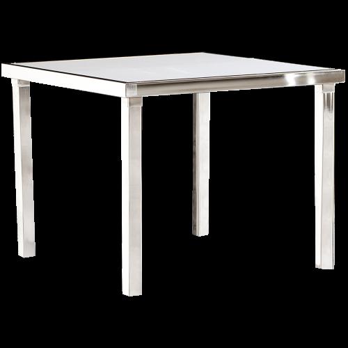 Gala Table Basse Carrée - Blanc