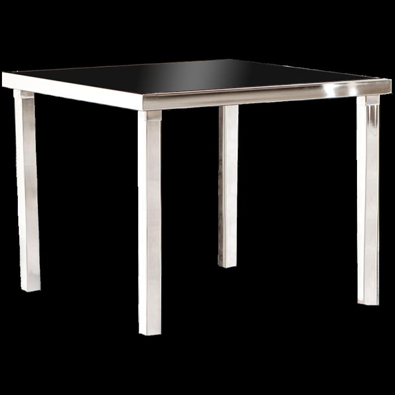 Gala Table Basse Carrée - Noir