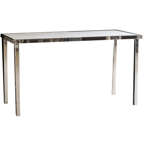 Gala Communal Table Rectangle - White