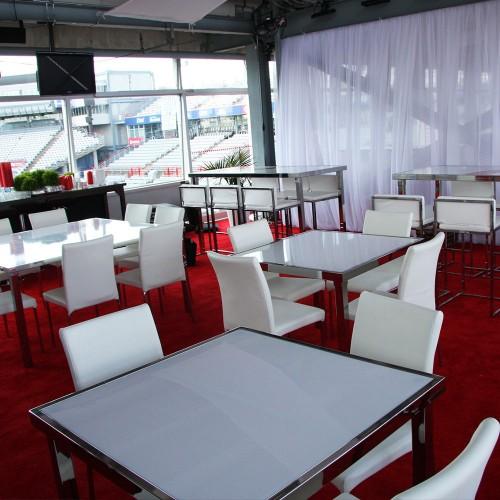 Gala Table Communale Rectangle - Blanc
