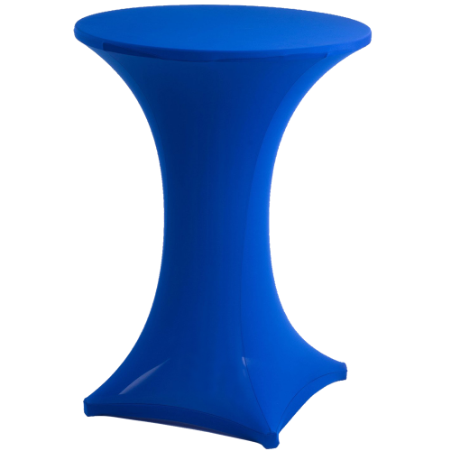 Cocktail Bistro Table - Lycra Cover Royal Blue