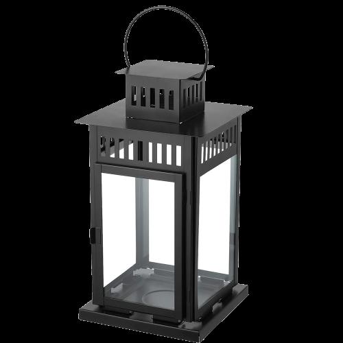 Lantern - Black 17''