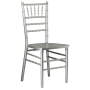 CHIAVARI CHAIR SILVER
