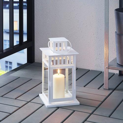 Lantern - White 11''
