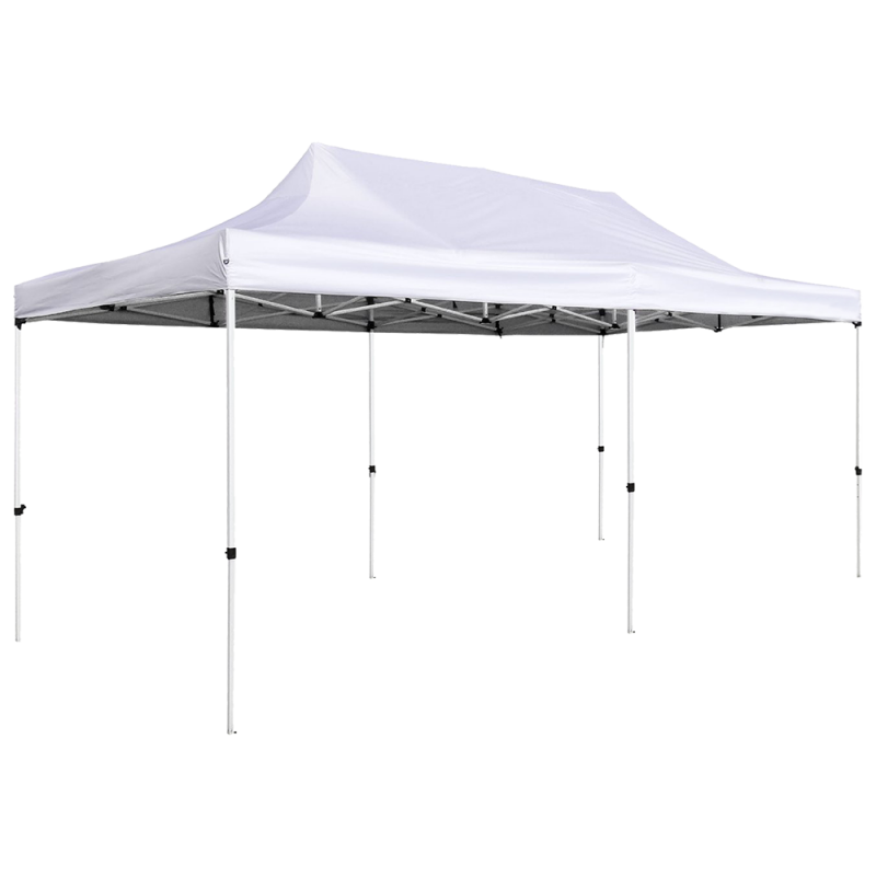 Pop-Up Canopy Tent 10x20 White