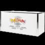 Gala Plexi Bar 6ft. White-Chrome With Custom Logo