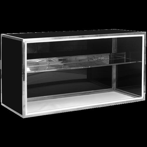 Gala Plexi Bar 6ft. Black-Chrome