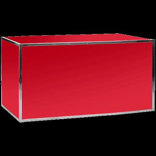Gala Plexi Bar 6ft. Red-Chrome