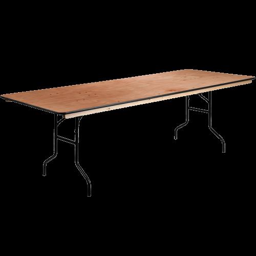 Table Rectangulaire Pliante en Bois 8'