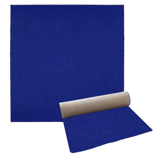 Carpet - Square Royal Blue 10x10
