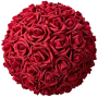 Flower Ball - Red Roses