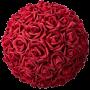 Flower Ball - Red Roses