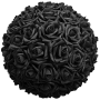 Flower Ball - Black Roses