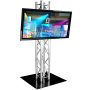 """Television 50"""" HD/LED & Truss Support"""