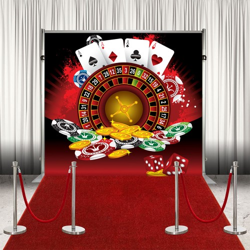 Banner Backdrop - Casino Roulette