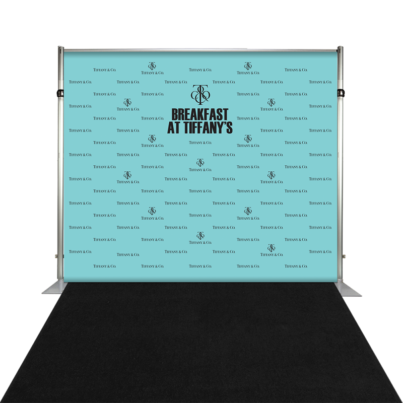 Banner Backdrop - Breakfast at Tiffanys