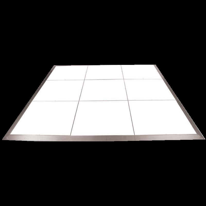 Laminated Dance Floor - White 3' x 3'
