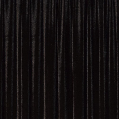 Pipe & Drape - Black Velour Draping