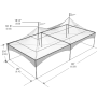 Tent - Peak Marquee 20' x 40'