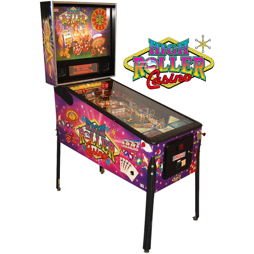 High Roller Casino Pinball Machine