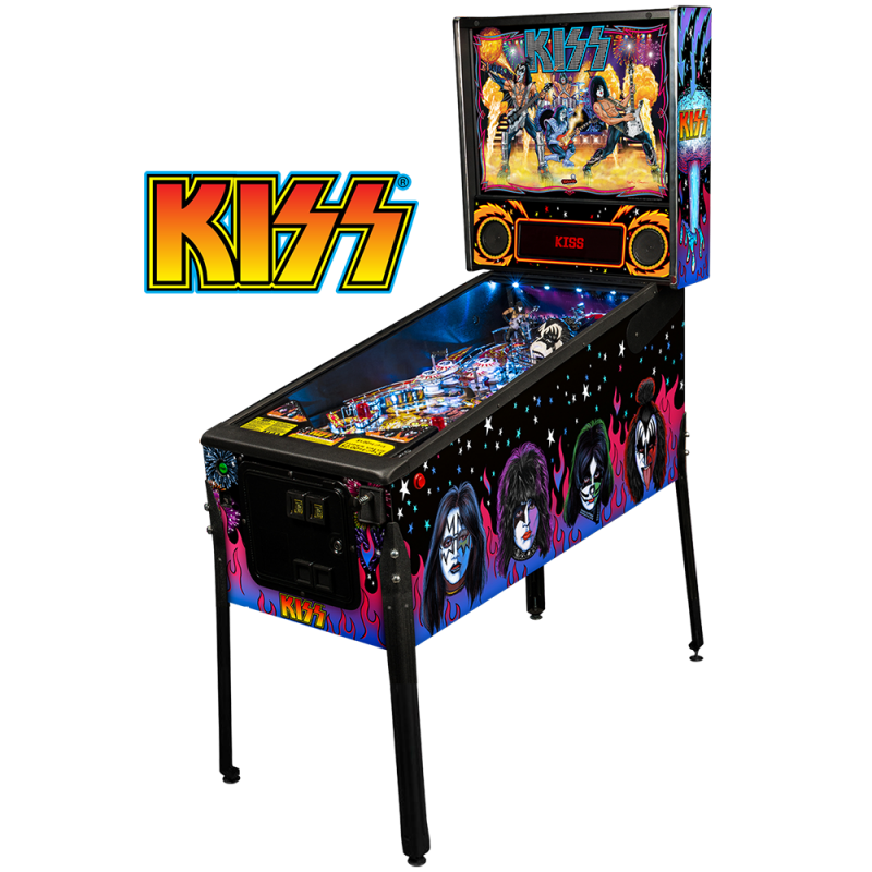 Kiss Flipper / Machine à boules