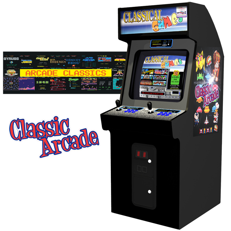Classic Arcade 60-in-1 Games (Cabinet)