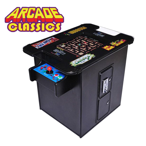 Classic Arcade Games (Cocktail Table)