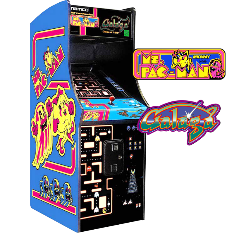 Ms. Pac-Man Galaga