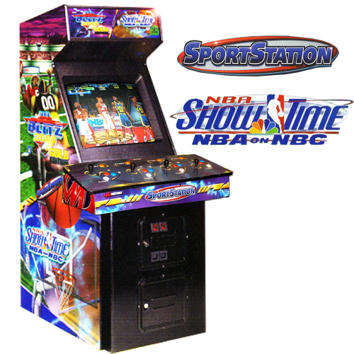 SportStation Blitz 2000 Gold NBA Showtime
