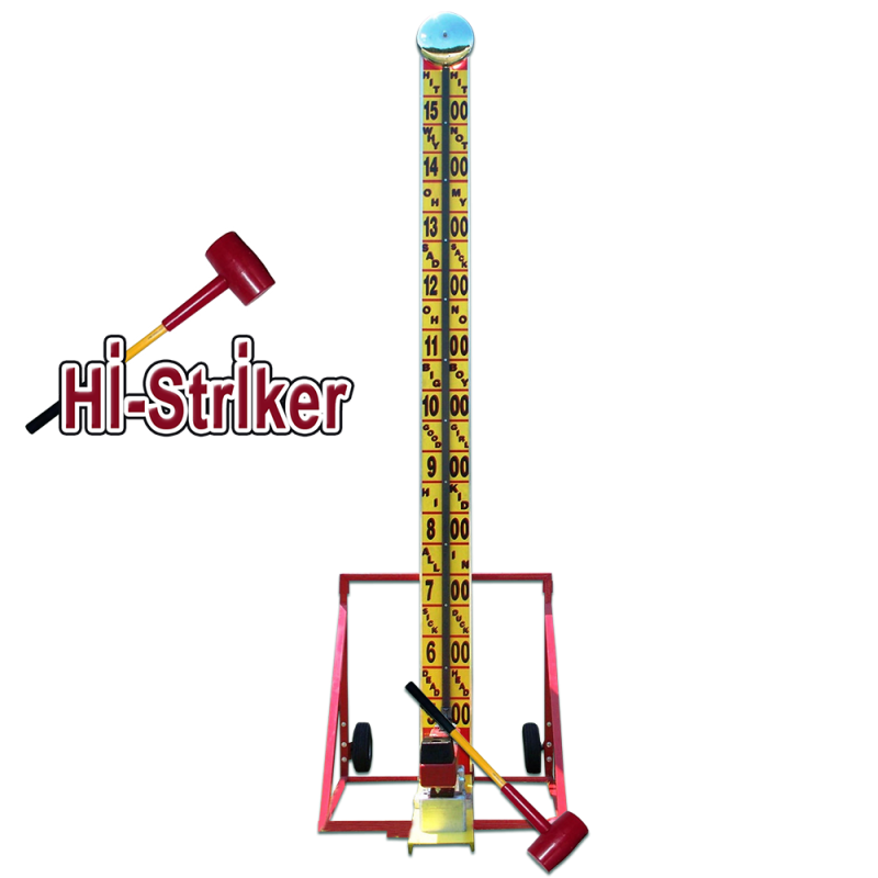 Hi-Striker Hammer 17'