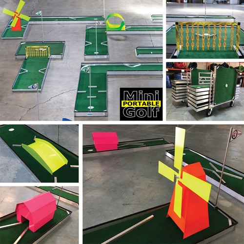 Portable Mini Golf 9-Hole