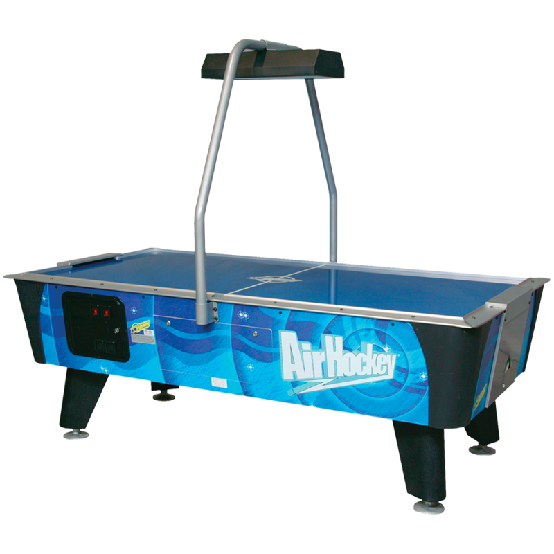 Blue Streak Table de hockey pneumatique 7'