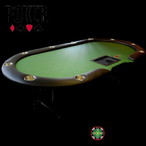 Table de Poker 10-Joueurs