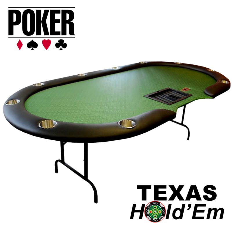 Poker Table 10-Player