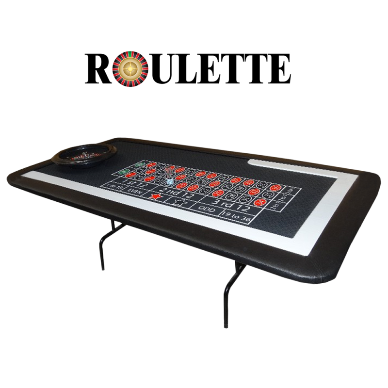 Table de Roulette (Table pliable)