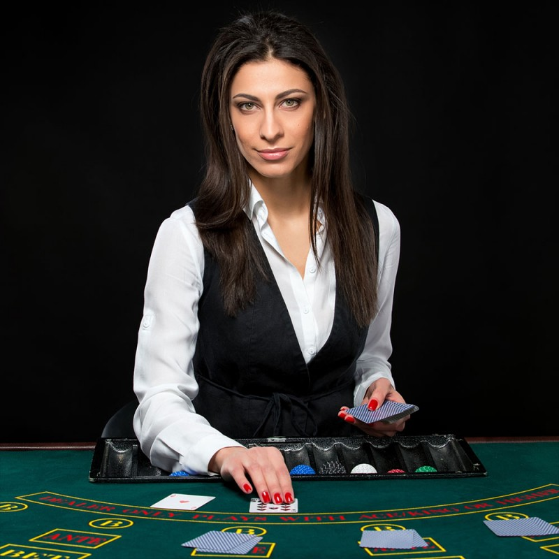 Casino Croupier - Card Dealer