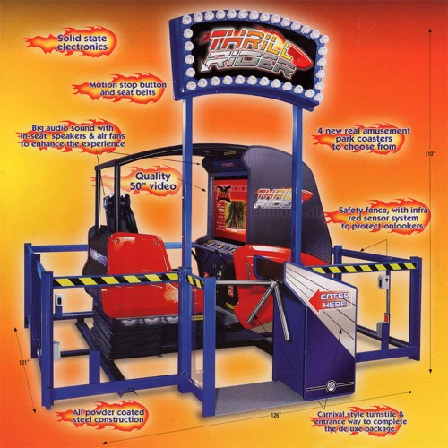 Thrill Rider Motion Simulator