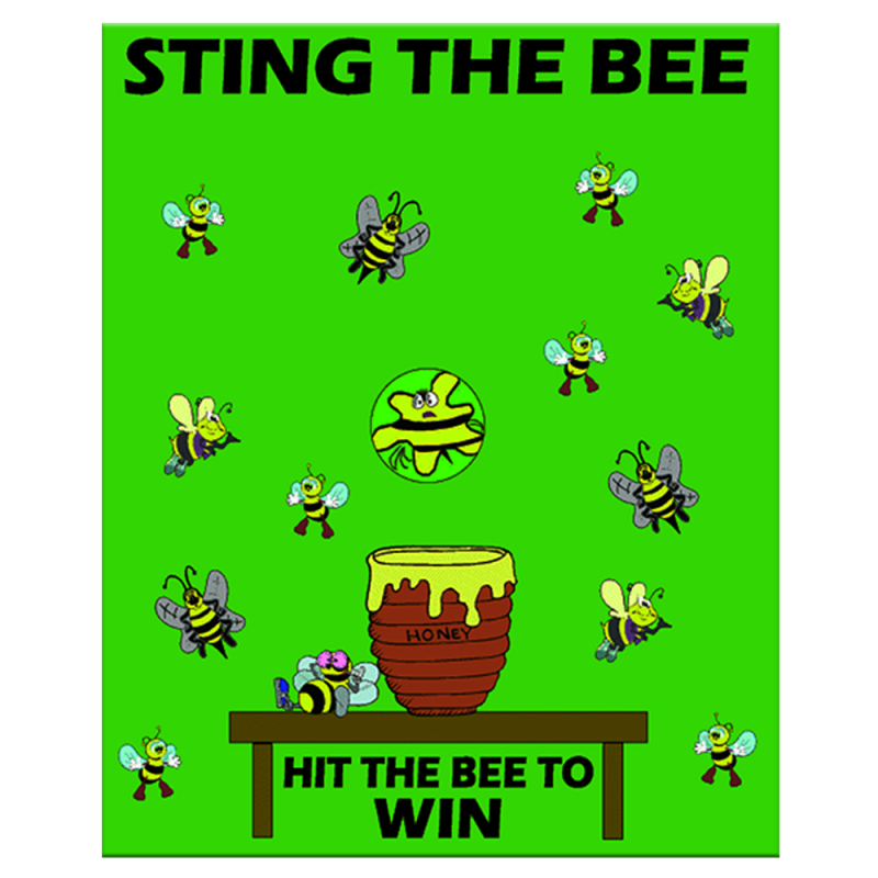 Sting-The-Bee Toss Game